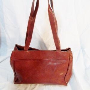 Vintage BLOOMINGDALE'S Leather TOTE Satchel